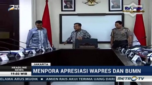 JK Ajak BUMN Rapat Bahas Asian Games 2018