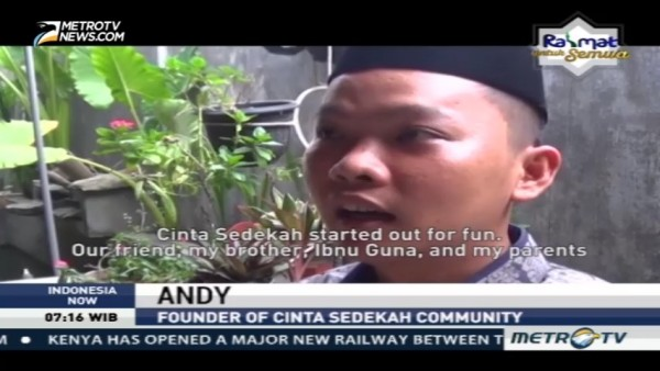 Meet the Founder of Cinta Sedekah Community