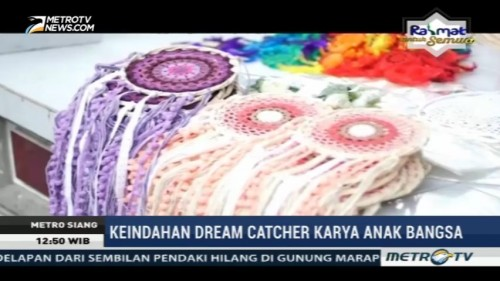 Keindahan Dream Catcher Karya Anak Bangsa