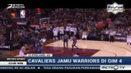 Cavaliers Menang atas Warriors di Game ke-4