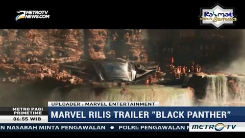 Marvel Rilis Trailer Black Panther