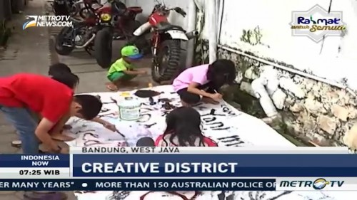 Take a Visit to Creative District in Bandung