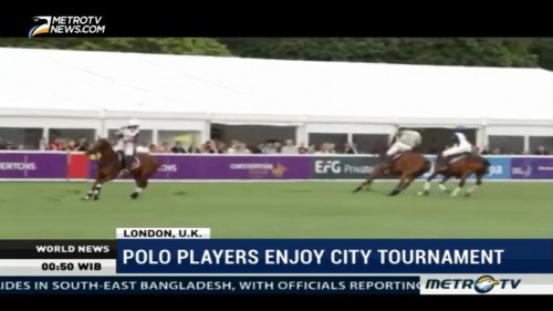 Polo Players Enjoy City Tournament in London