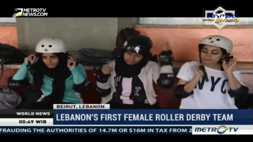 Lebanon's Frist Female Roller Derby Team