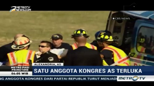 Anggota Kongres AS Jadi Korban Penembakan di Virginia