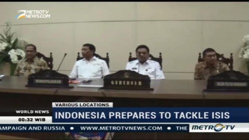 Indonesia Prepares to Tackle ISIS
