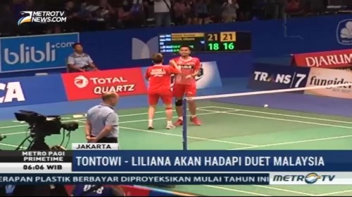 Owi/Butet ke Semifinal Indonesia Open 2017