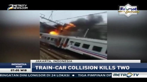 Train-Car Collision Kills Two