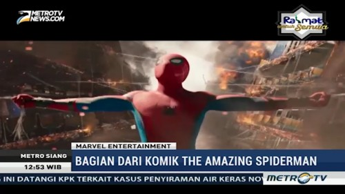 Film Spiderman: Homecoming Siap Rilis 5 Juli