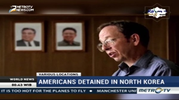 Two Americans Detained in North Korea Had Different Paths