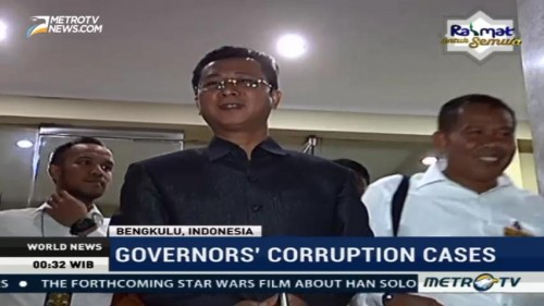 Bengkulu Governor's Corruption Cases
