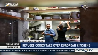 Refugee Cooks Take Over European Kitchens
