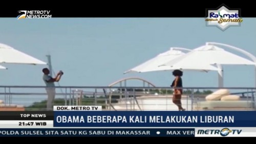 Gaya Liburan Obama