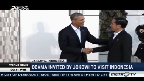 Obama Invited By Jokowi to Visit Indonesia