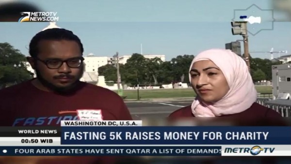 Fasting 5K Raises Money For Charity