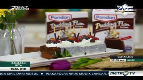 Sajian Ramadan: Chocolate Pudding Cake