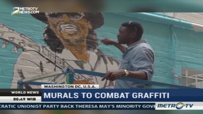Murals to Combat Graffiti in Washington