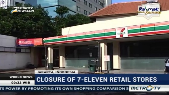 The Closure of Seven Eleven Retail Stores in Indonesia