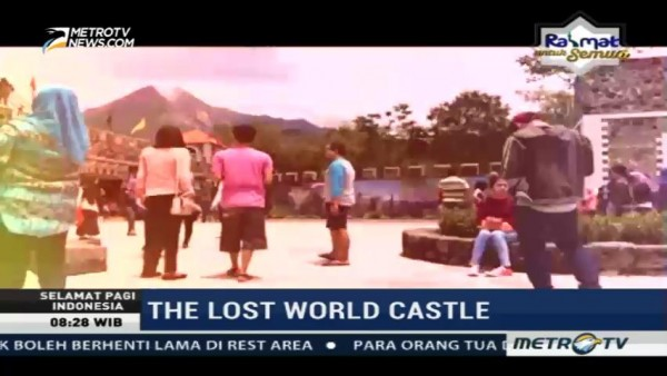The Lost World Castle jadi Wisata Alternatif di Jogja