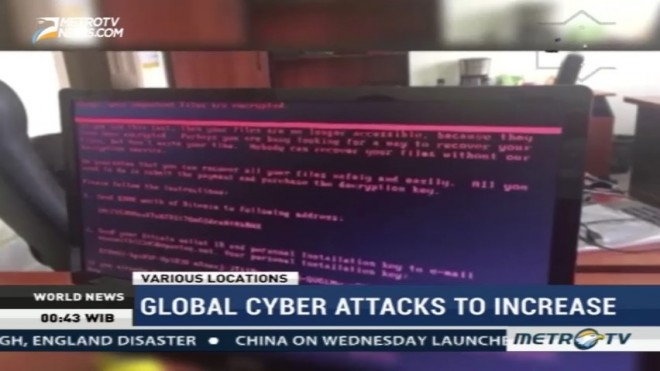 Global Cyber Attacks to Increase