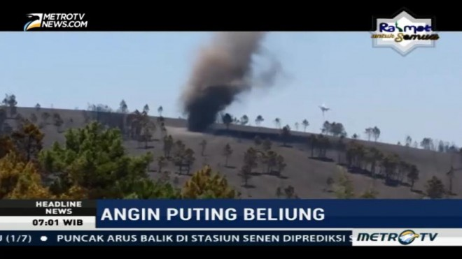 Angin Puting Beliung Hantam Portugal