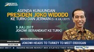 Jokowi Heads to Turkey to Meet Erdogan