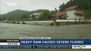 Heavy Rain Causes Severe Floods in Japan