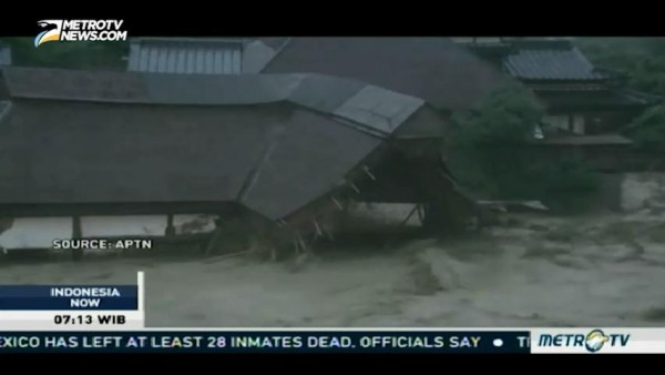 Floods in Japan Kills At Least 2