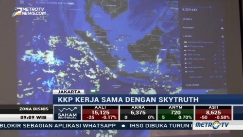 KKP Luncurkan Aplikasi 'Global Fishing Watch'