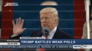 Trump Battles Weak Polls