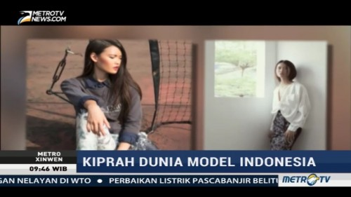 Kiprah Model Indonesia Clara Tan