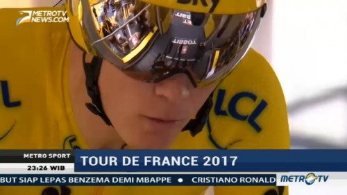 Chris Froome di Ambang Juara Tour de France 2017