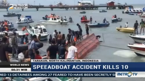 Speedboat Accident Kills 10 People