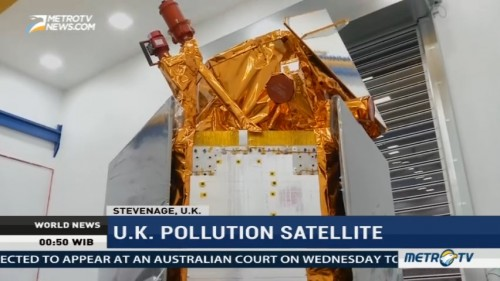 UK Pollution Satellite