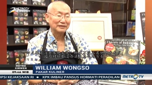 Mengenal William Wongso, Maestro Kuliner Indonesia