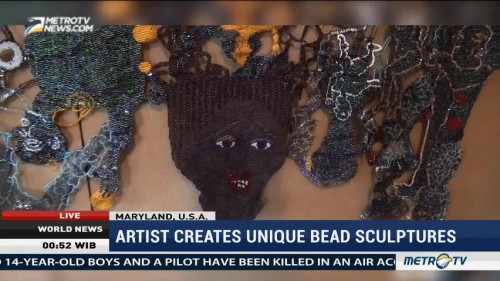American Artist Creates Unique Bead Sculptures
