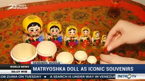 Matryoshka Doll as Russia's Iconic Souvenirs