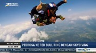 Aksi Skydiving Dani Pedrosa ke Sirkuit Red Bull Ring