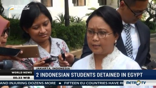 2 Indonesian Students Detained in Egypt