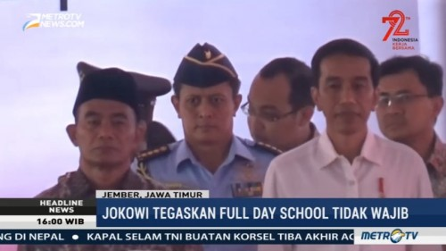 Jokowi tegaskan Program <i>Full Day School</i> Tak Wajib