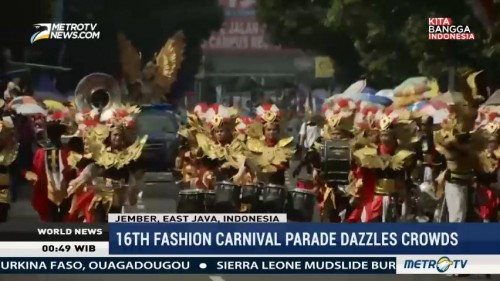 16th Fashion Carnival Parade Dazzles Crowds