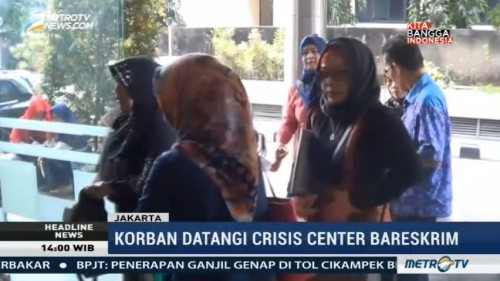 Puluhan Korban First Travel Datangi Crisis Center