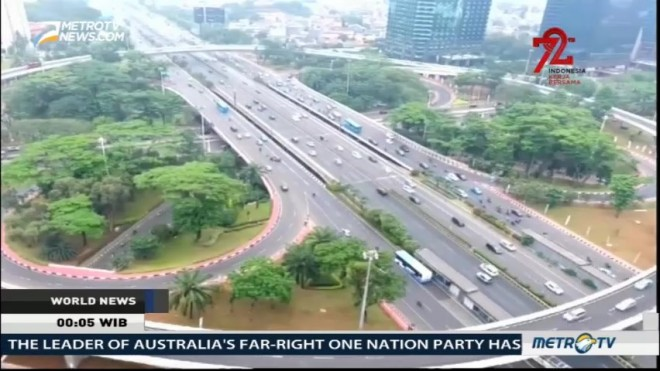 Semanggi Interchange Now Operational