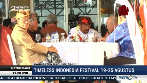 Timeless Indonesia Festival Promosikan Kebudayaan Indonesia