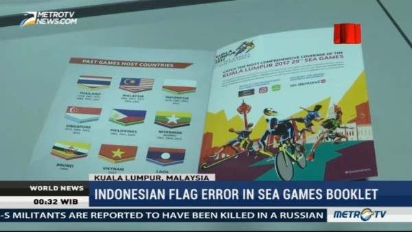 Malaysia Apologizes for Indonesian Flag Error in SEA Games Booklet