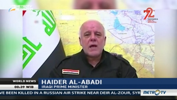'Surrender or Die': Iraqi PM Warns IS Fighters