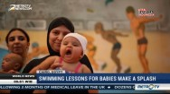 Swimming Lessons for Babies Make A Splash