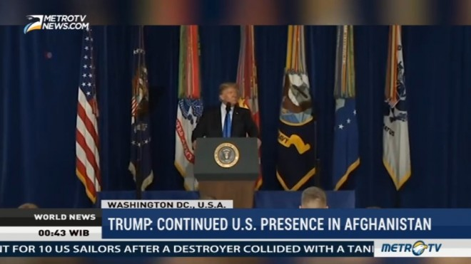 Trump: Continued US Presence in Afghanistan