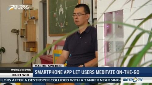 Smartphone App Let Users Meditate On-The-Go