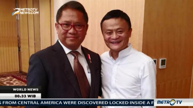 Jack Ma To Be Indonesia's E-Commerce Advisor